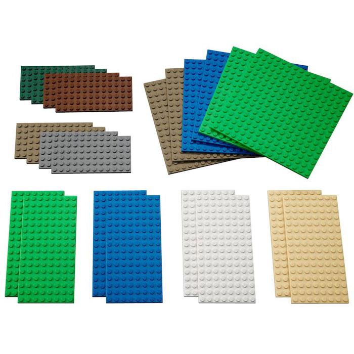 lego LEGO Education 9388 Малые платформы для строительства LEGO