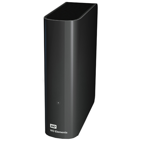 Внешний жесткий диск 3.5 3Tb WD Elements Desktop WDBWLG0030HBK-EESN USB3.0 Черный жесткий диск wd original usb 3 0 10tb wdbwlg0100hbk eesn elements desktop 3 5 черный