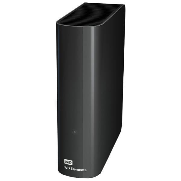 Внешний жесткий диск 3.5 3Tb WD Elements Desktop WDBWLG0030HBK-EESN USB3.0 Черный