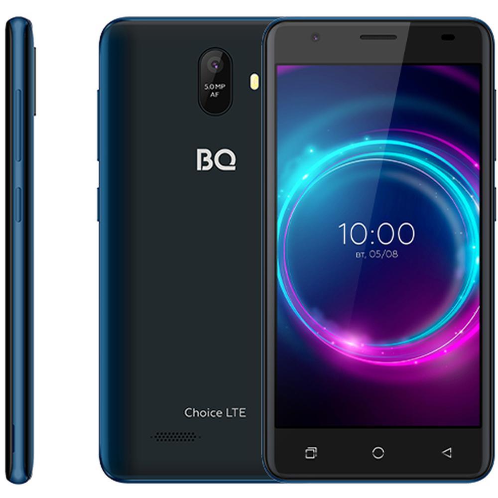 Смартфон BQ Mobile BQ-5046L Choice LTE Blue смартфон bq mobile bq 5046l choice lte ultraviolet