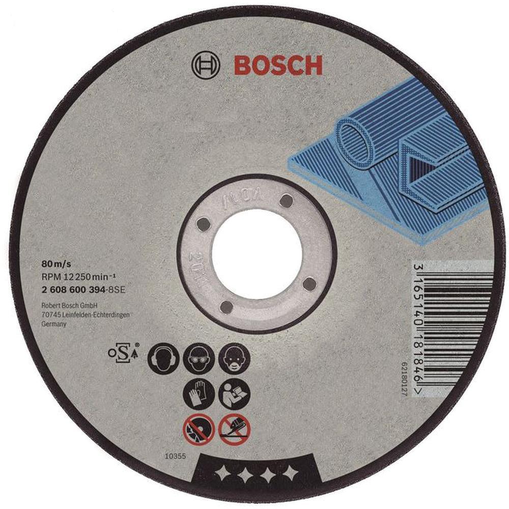 Отрезной круг по металлу Bosch Expert 125х1.6мм прямой 2608600219 отрезной круг bosch expert for inox 125х1мм 2608600549