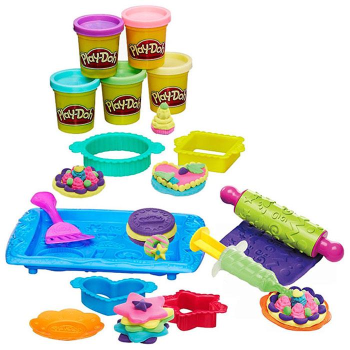 Игровой набор с пластилином Hasbro Play-Doh B0307 Магазинчик печенья