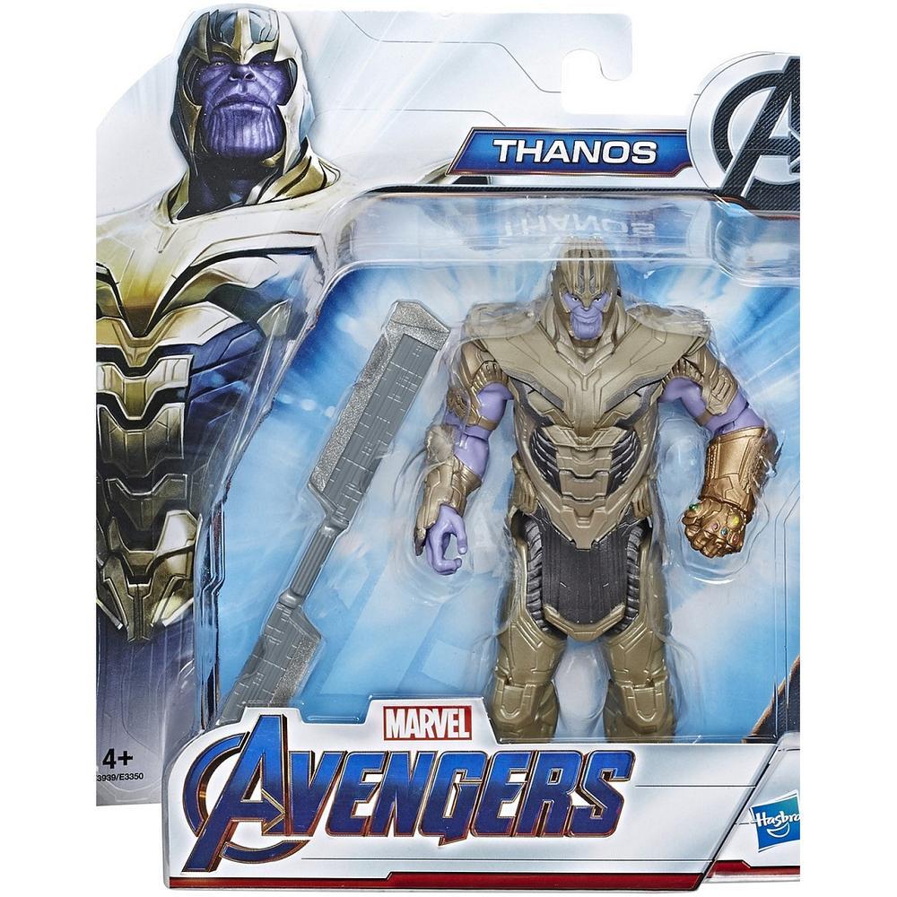 Фото - Avengers Hasbro Фигурка Мстители 15 см Делюкс E3350 Танос (в бронзовых доспехах) avengers hasbro фигурка бенди мстители 15 см e7377 капитан америка