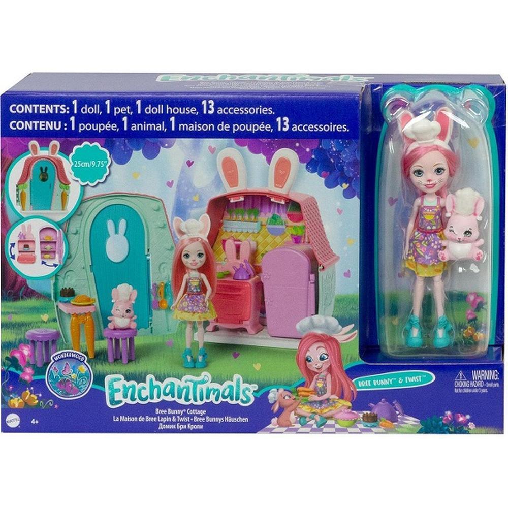 Enchantimals Mattel Домик Бри Кроли GYN60
