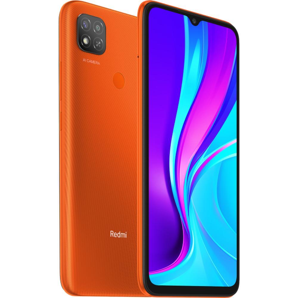 Смартфон Xiaomi Redmi 9C 2/32GB NFC Sunrise Orange смартфон xiaomi redmi 9c 2 32gb nfc синий