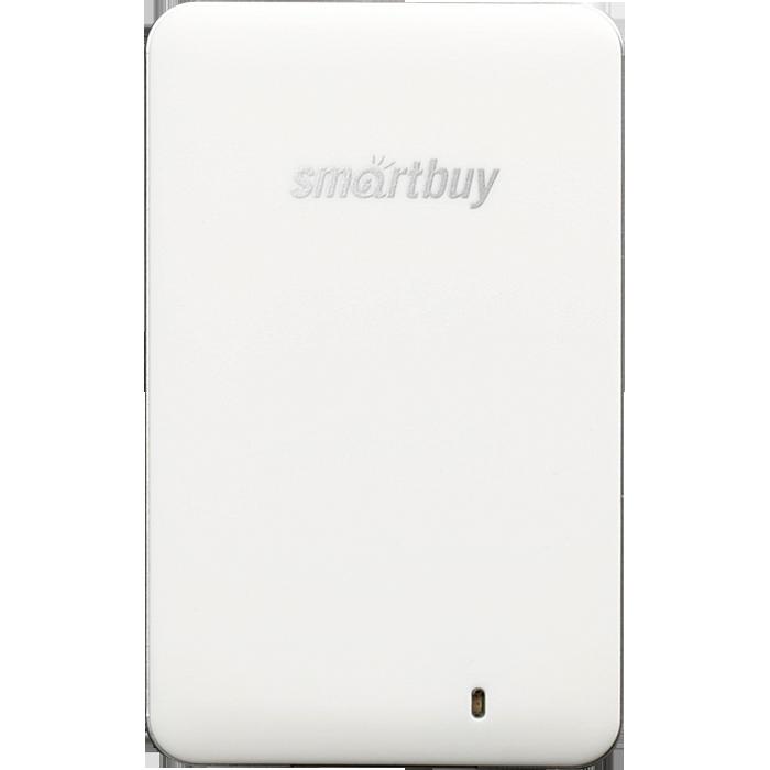 Фото - Внешний SSD-накопитель 1.8 128Gb Smartbuy S3 Drive SB128GB-S3DW-18SU30 (SSD) USB 3.0, Белый внешний ssd smartbuy s3 128 гб черный