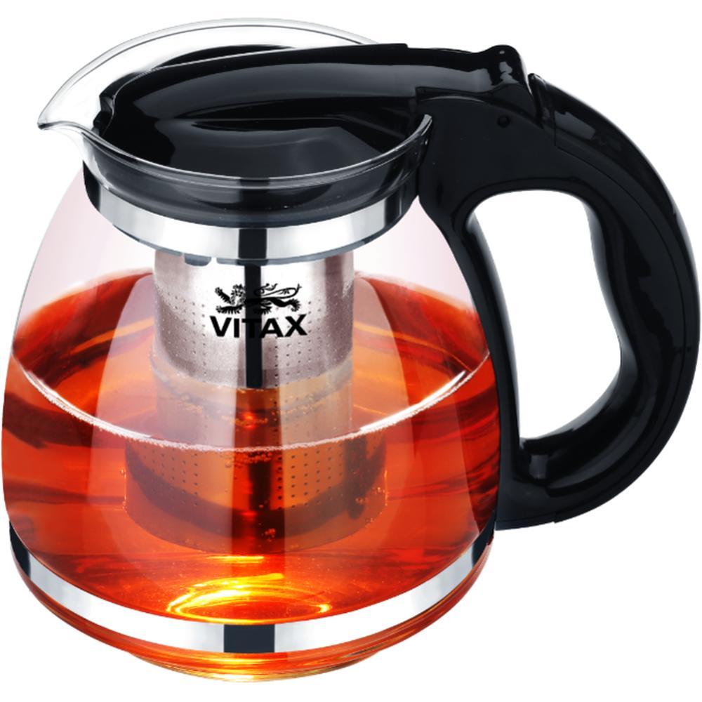 Фото - Заварочный чайник Vitax VX 3303, 1,5 л. заварочный чайник vitax belsay 1 л vx 3203
