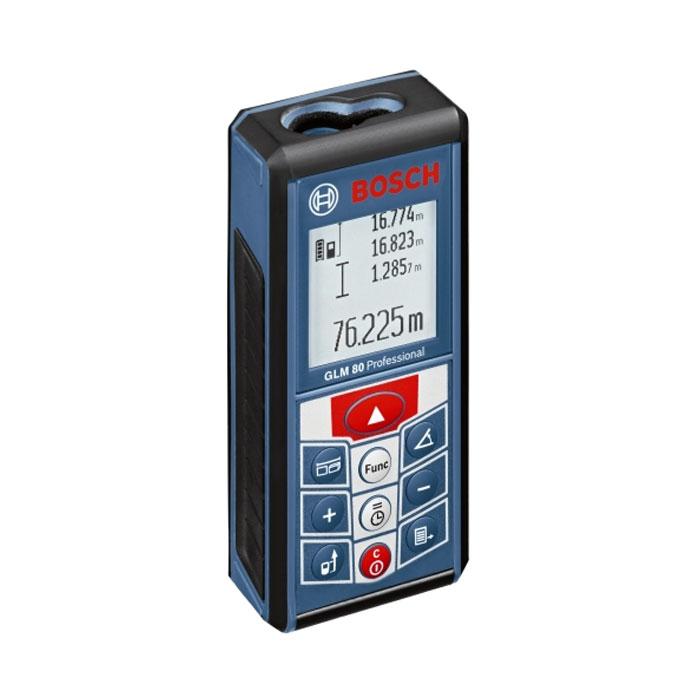 Лазерный дальномер Bosch GLM 80 Professional 0601072300 лазерный дальномер bosch glm 80 r60 0601072301