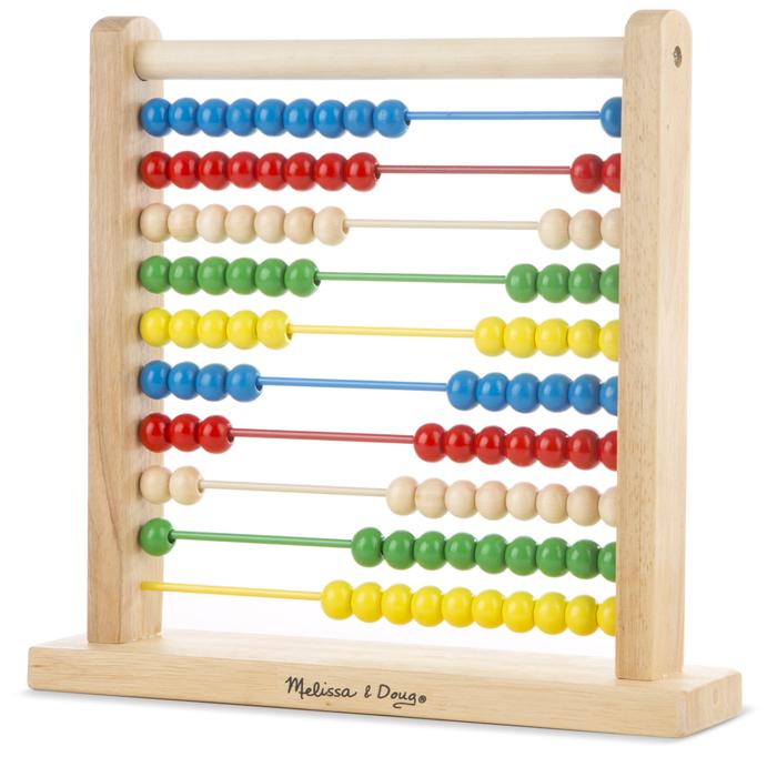 Буквы и цифры Классические игрушки Melissa & Doug Счеты 493
