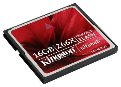 16Gb Compact Flash Kingston Ultimate 2 266x (CF/16GB-U2)