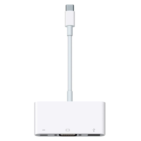 Фото - Адаптер Apple USB-C VGA Multiport Adapter MJ1L2ZM/A адаптер apple usb ethernet adapter mc704zm a