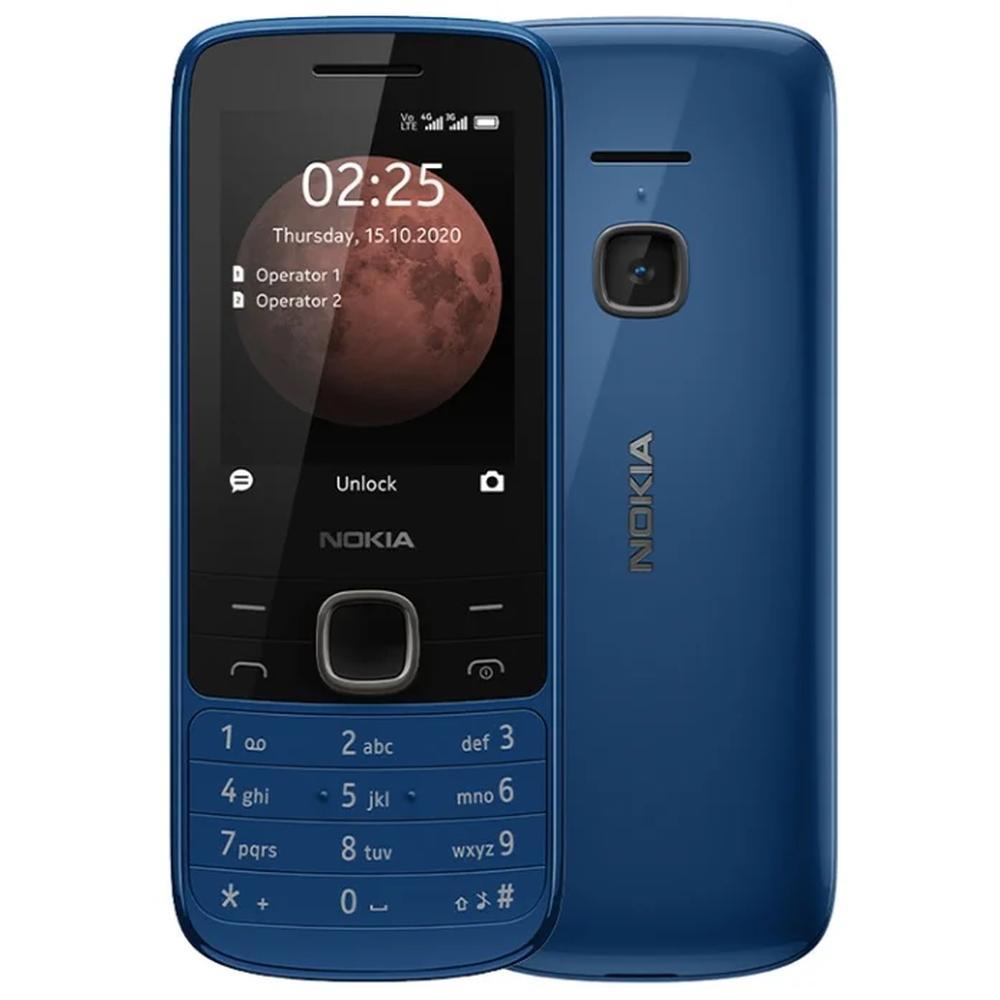 Мобильный телефон Nokia 225 4G Dual Sim Blue кнопочный телефон nokia 225 4g sand