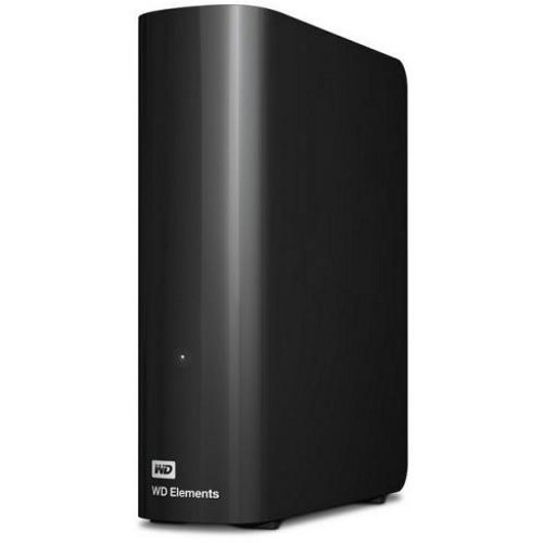 Внешний жесткий диск 3.5 4Tb WD Elements Desktop WDBWLG0040HBK-EESN USB3.0 Черный жесткий диск wd original usb 3 0 10tb wdbwlg0100hbk eesn elements desktop 3 5 черный