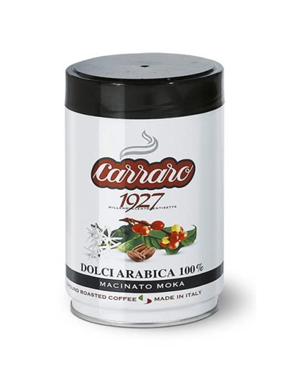 Фото - Кофе молотый Carraro Dolci Arabica 250 гр ж/б кофе молотый carraro espresso casa 250 гр в у