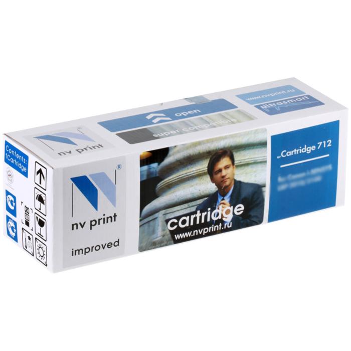 Фото - Картридж NV-Print NVP-712 для Canon LBP3010/3020 (1500 стр) источник света для авто gfg 50pcs lot 68smd w5w 194 t10 68 smd 3020