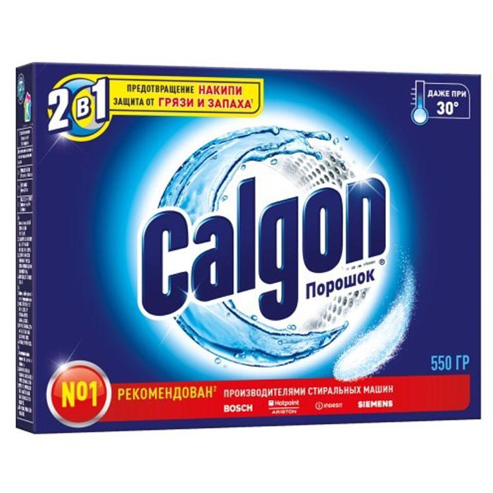 Фото - Calgon Средство для смягчения воды 2в1, 550 г calgon таблетки для смягчения воды 12 шт