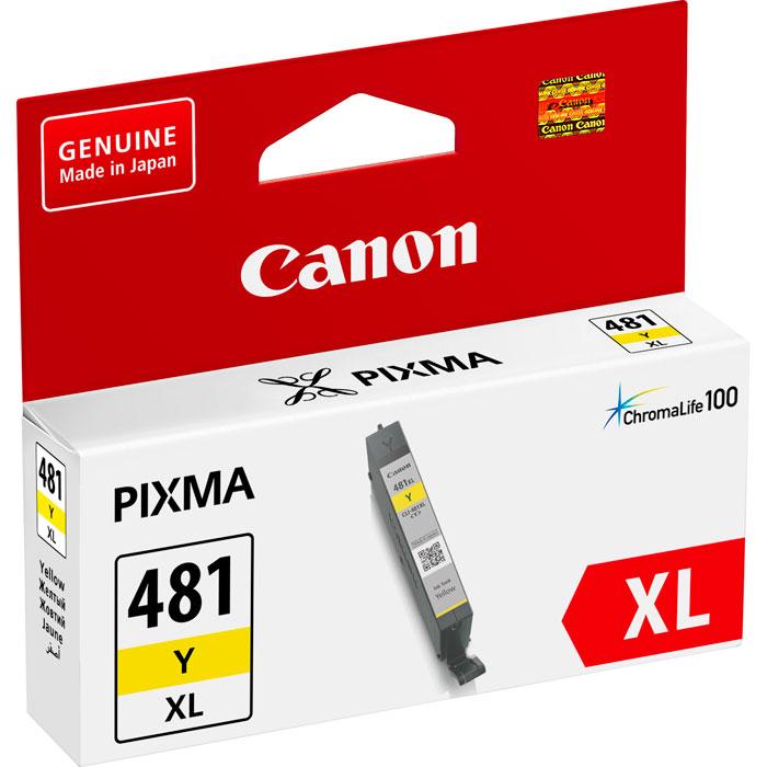 Фото - Картридж Canon CLI-481Y XL для TS6140, TR7540, TR8540, TS8140, TS9140. Желтый картридж canon cli 481xl y для canon pixma ts6140 ts8140ts ts9140 tr7540 tr8540 желтый 2046c001