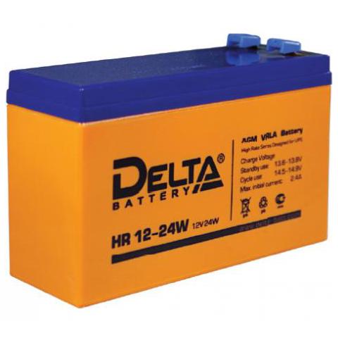 Батарея Delta HR 12-24W 12V 6Ah (151мм/52мм/99мм)