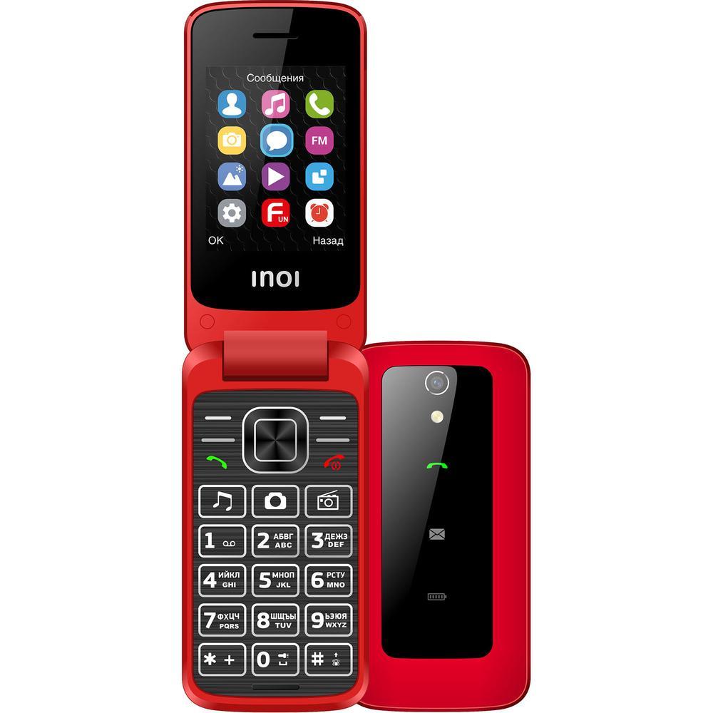 Мобильный телефон Inoi 245R Red мобильный телефон inoi 239 dark red