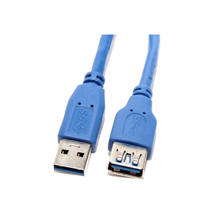 Фото - Кабель удлинитель USB3.0 АM/AF 1м удлинитель