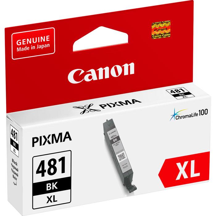 Фото - Картридж Canon CLI-481BK XL для TS6140, TR7540, TR8540, TS8140, TS9140. Чёрный. картридж canon cli 481xl y для canon pixma ts6140 ts8140ts ts9140 tr7540 tr8540 желтый 2046c001