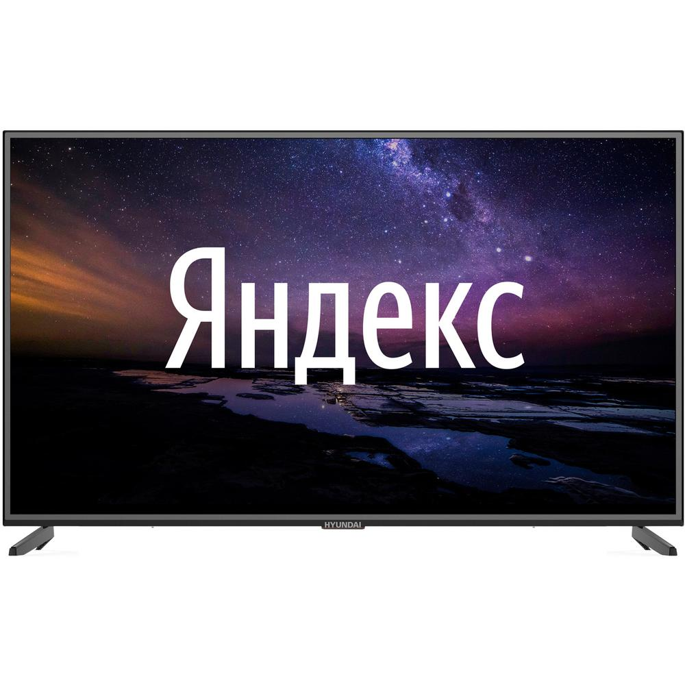 Телевизор 55 Hyundai H-LED55EU1311 (4K UHD 3840x2160, Smart TV) черный телевизор 65 samsung ue65tu8300u 4k uhd 3840x2160 smart tv изогнутый экран черный