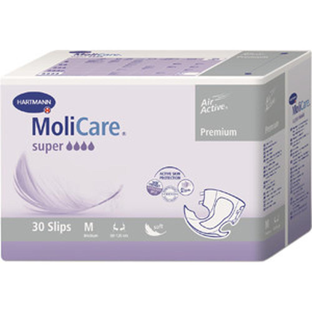Фото - Подгузники для взрослых Hartmann MoliCare Premium super soft, M (30 шт.) подгузники для взрослых id подгузники для взрослых slip basic m 30 шт