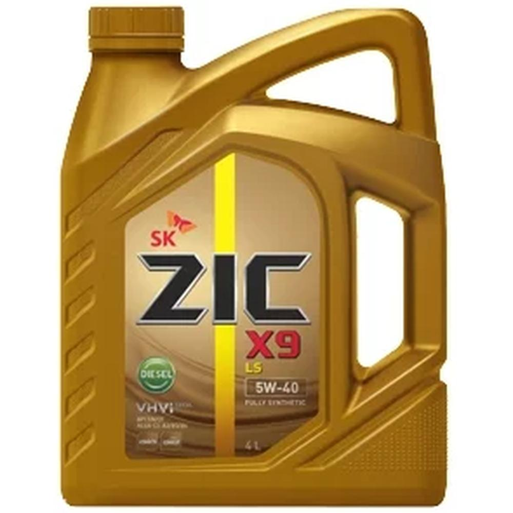 Фото - Масло моторное ZIC X9 LS DIESEL 5W-40 4 л моторное масло zic x9 ls 5w 30 4 л