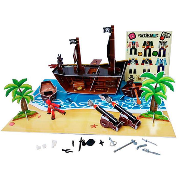 Zing Stikbot Набор Пиратский корабль TST623P