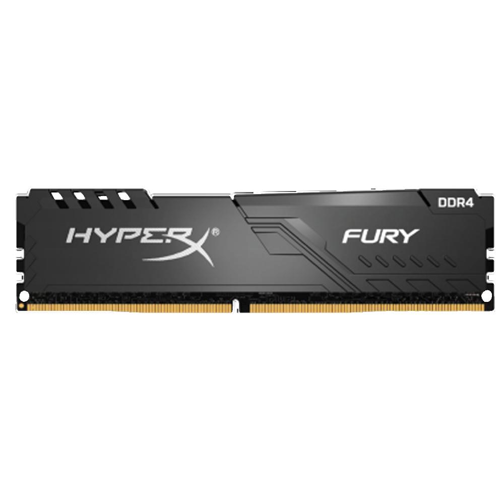 Модуль памяти DIMM 32Gb DDR4 PC25600 3200MHz Kingston HyperX FURY Black CL16 (HX432C16FB3/32) недорого