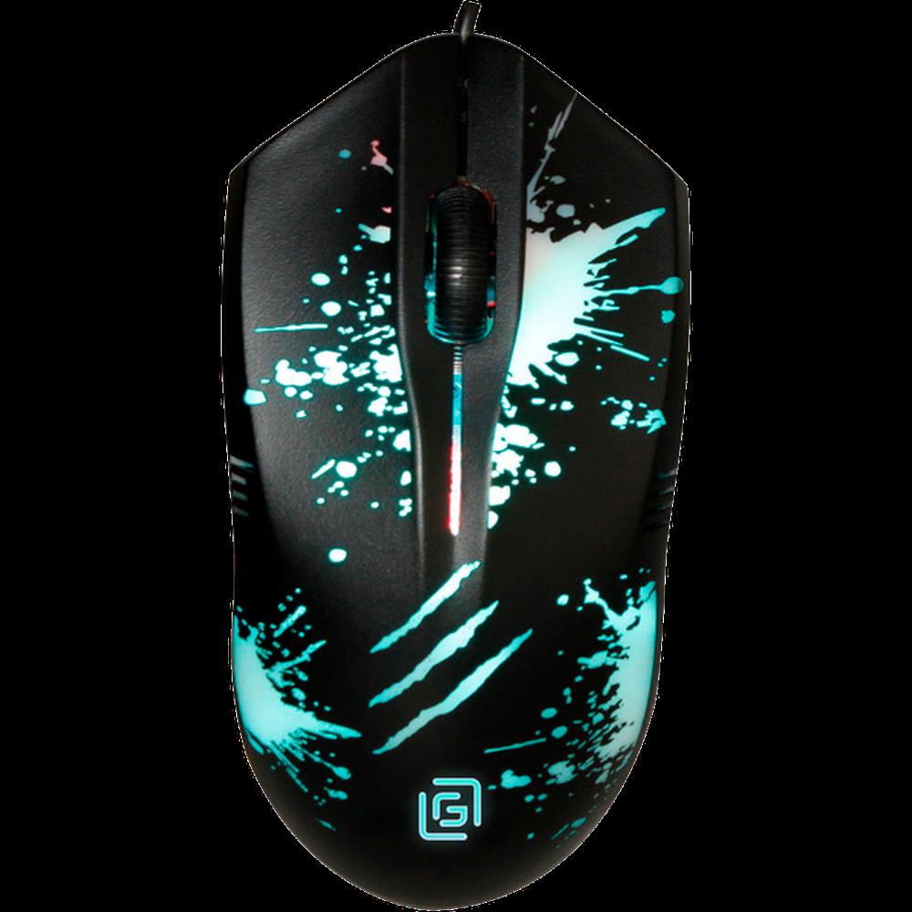Мышь Oklick 399M Stigma Black проводная