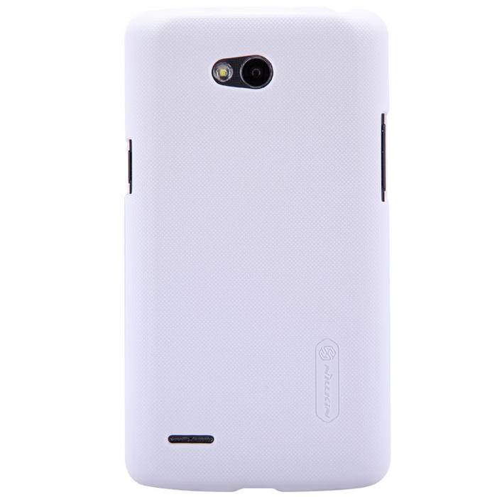 Чехол для LG LG D380 L80 Nillkin Super Frosted белый
