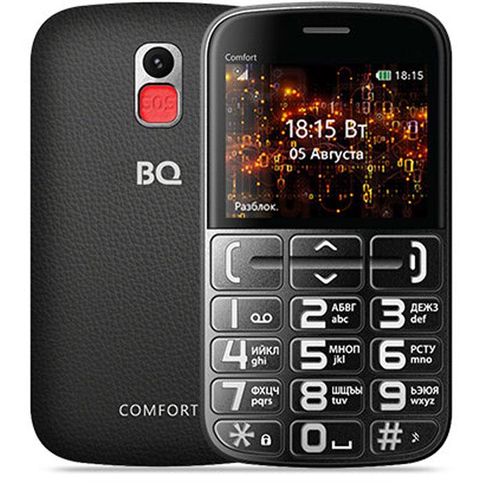 Мобильный телефон BQ Mobile BQ-2441 Comfort Black/Silver мобильный телефон alcatel one touch 2051d black silver