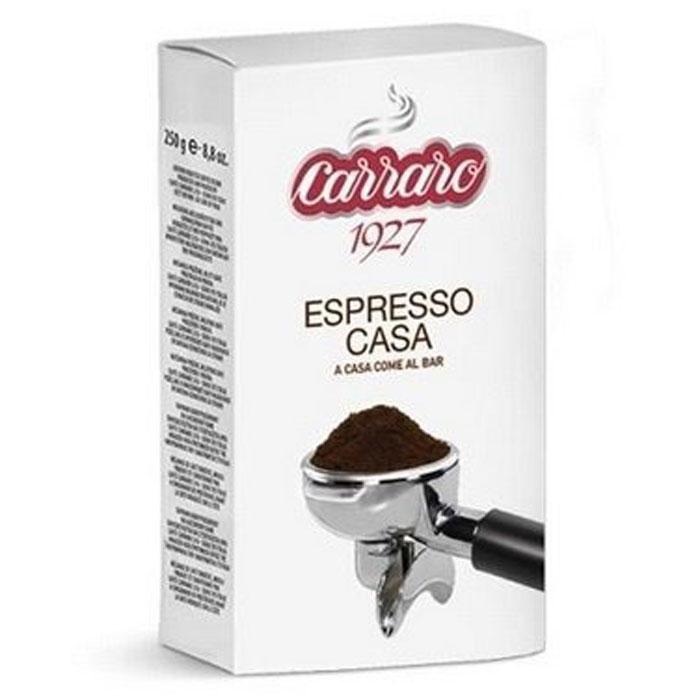 Фото - Кофе молотый Carraro Espresso Casa 250 гр в/у кофе молотый carraro espresso casa 250 гр в у