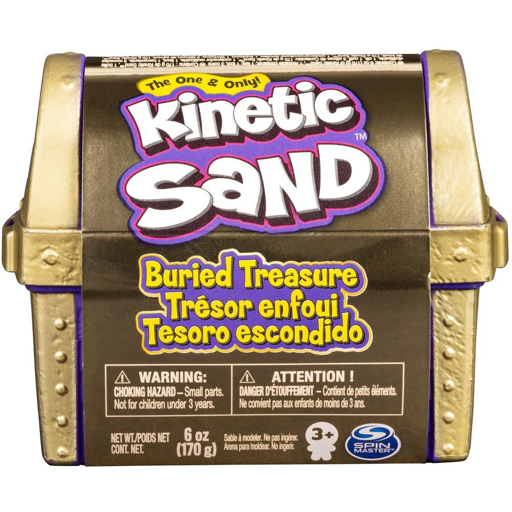 Kinetic Sand Набор для лепки Кинетический Сундучок 6054831