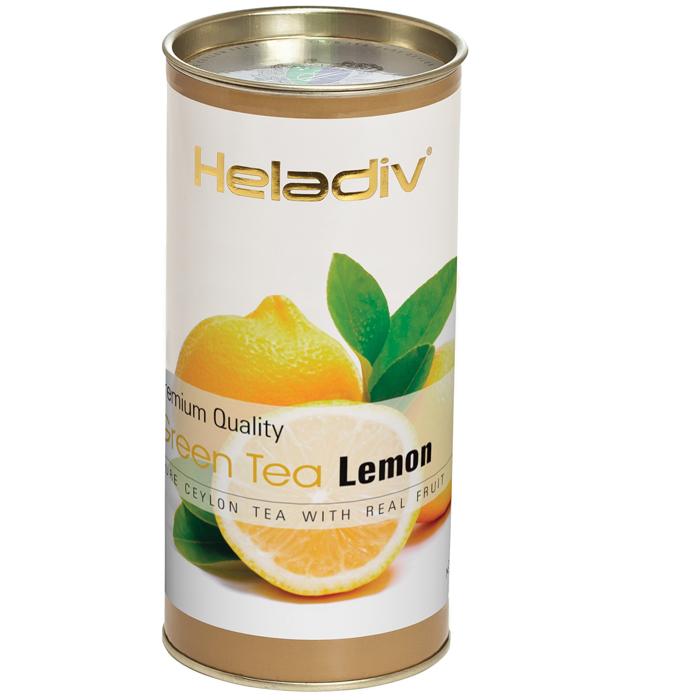 Фото - Чай зеленый Heladiv Lemon 100 г чай черный heladiv hd rasberry 100 gr round p t