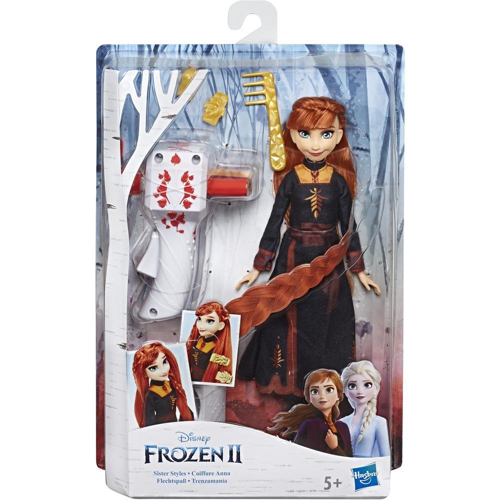 Кукла Hasbro Disney Frozen Холодное сердце 2 E6950/E7003 Магия причесок Анна