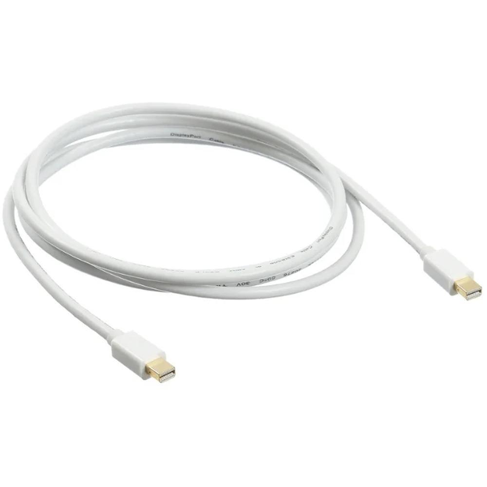 Фото - Кабель Display port mini M/M 1.8м черный кабель display port mini m dvi 1 8м черный экран
