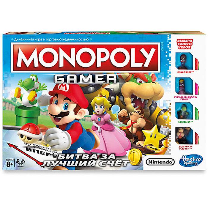 Настольная игра Hasbro Монополия Геймер C1815 hasbro настольная игра монополия маша и медведь