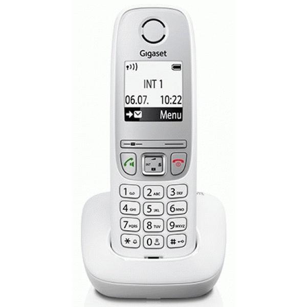 Радиотелефон Gigaset A415 белый радиотелефон