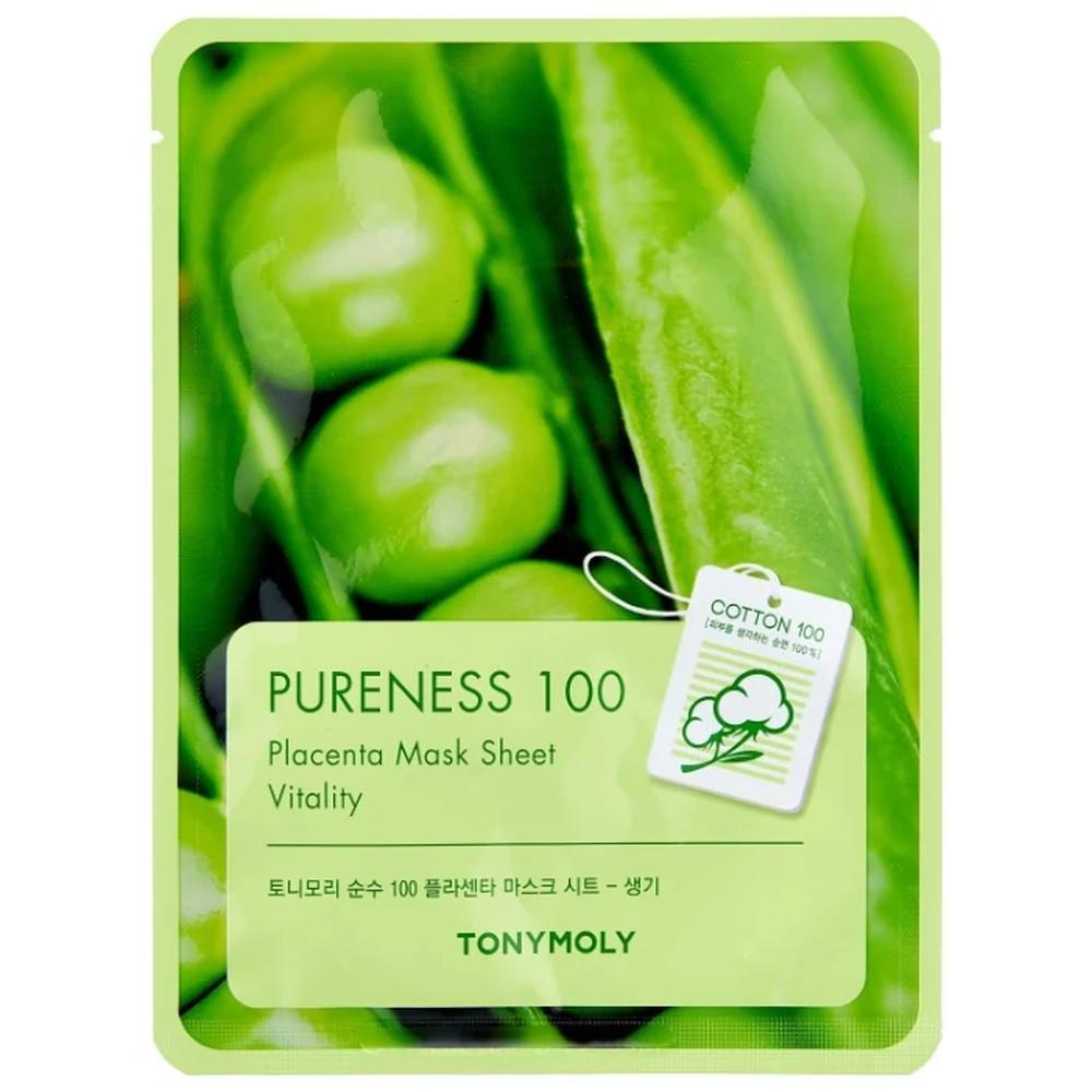 TONY MOLY тканевая маска Pureness 100 Placenta, 21 г.