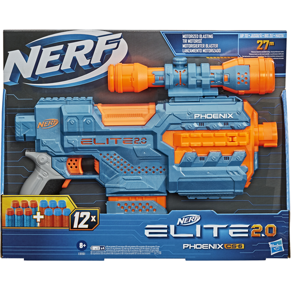 Бластер Hasbro Nerf Элит 2.0 Феникс E9961 другое оружие и боеприпасы nerf специальный агент