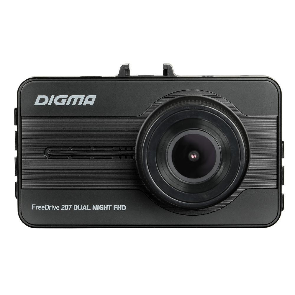 Автомобильный видеорегистратор Digma FreeDrive 207 DUAL Night FHD