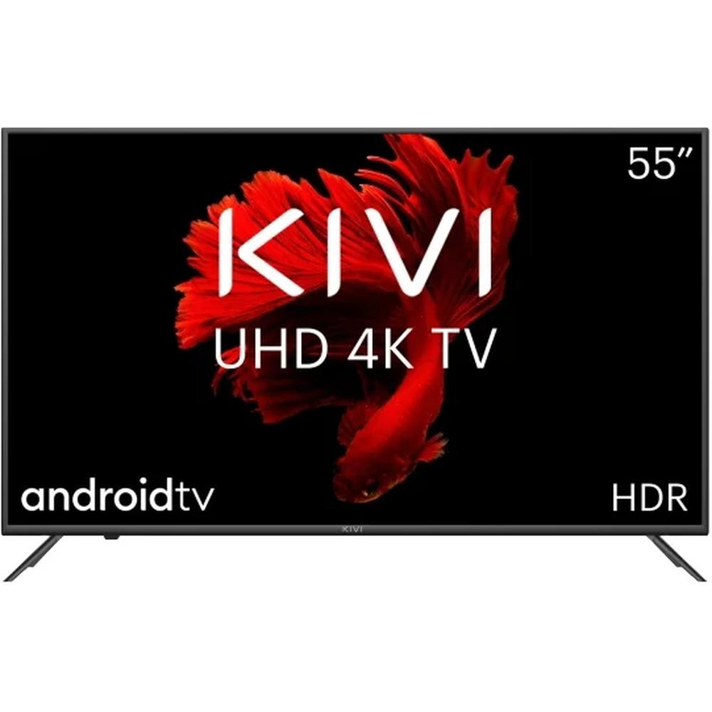 Фото - Телевизор 55 Kivi 55U710KB (4K UHD 3840x2160, Smart TV) черный телевизор 65 samsung ue65tu8300u 4k uhd 3840x2160 smart tv изогнутый экран черный