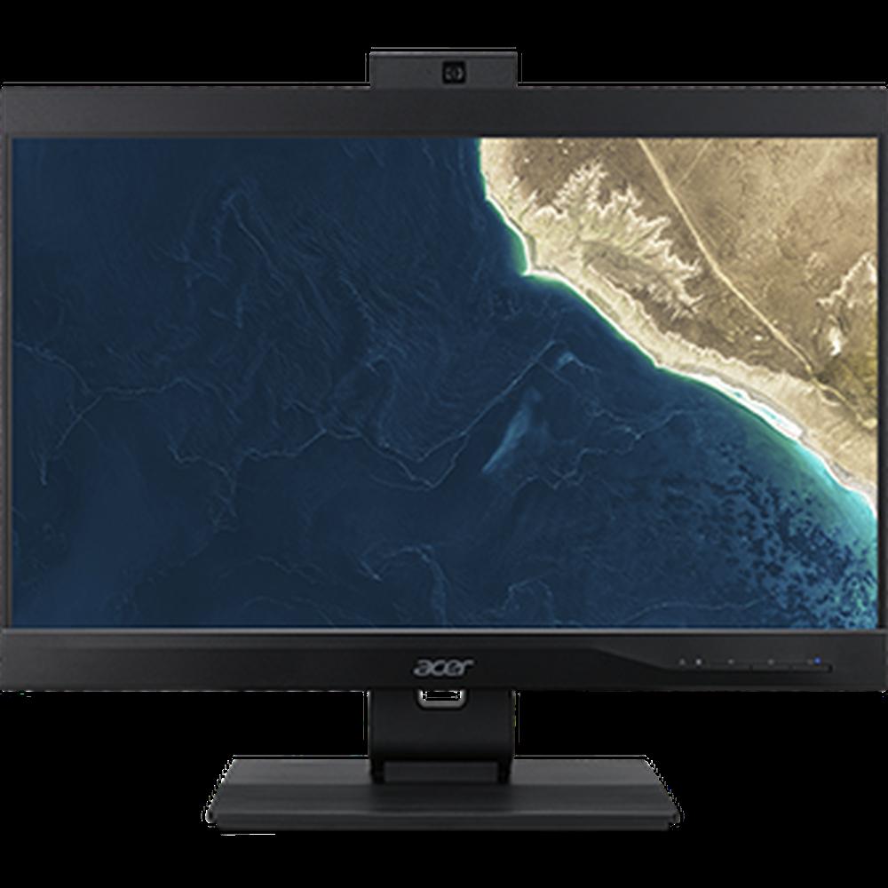Фото - Моноблок Acer Veriton Z4860G 23.8 FullHD Core i3 9100/4Gb/128Gb SSD/DVD-RW/Kb+m/DOS Black моноблок lenovo v530 24icb 24 fullhd core i5 9400t 4gb 256gb dvd rw kb m dos
