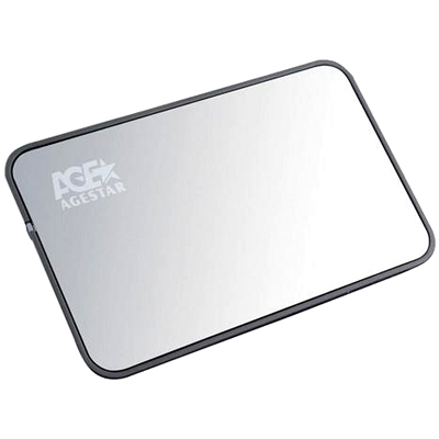 Фото - Корпус 2.5 AgeStar 3UB2A8 SATA, USB3.0 Silver корпус 2 5 agestar 3ub2a8 6g sata usb3 0 silver