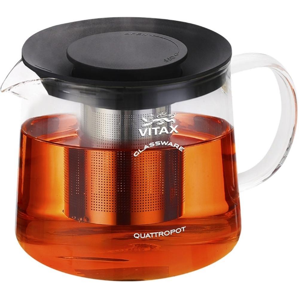 Фото - Заварочный чайник Vitax VX 3308, 1,5 л. заварочный чайник vitax belsay 1 л vx 3203