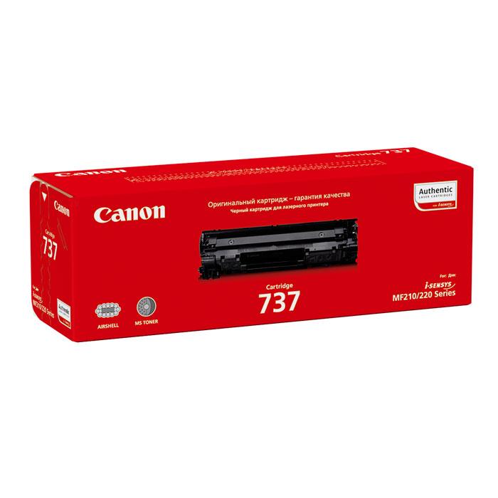 Фото - Картридж Canon 737 для Canon MF 211/212w/216n/217w/226dn/229dw (2400 стр.) картридж canon 725 для lbp6000 6000b 1600 стр