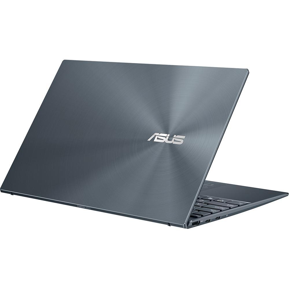 Ноутбук ASUS ZenBook 14 UX425EA-KI520 Core i3 1115G4/8Gb/512Gb SSD/14 FullHD/DOS Pine Grey ноутбук asus pro p5440fa bm1318 core i5 8265u 8gb 512gb ssd 14 fullhd dos grey