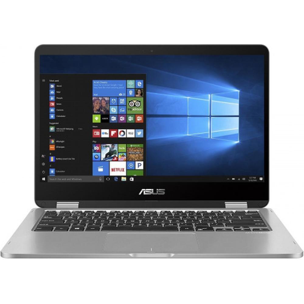 Ноутбук ASUS VivoBook Flip 14 TP401MA-EC296T Pentium N5030/4Gb/128Gb SSD/14 FullHD/Win10 Grey ноутбук asus vivobook flip 14 tp412fa 90nb0n31 m02610
